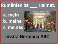 limba germana