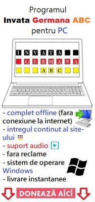 Programul Invata Germana ABC
